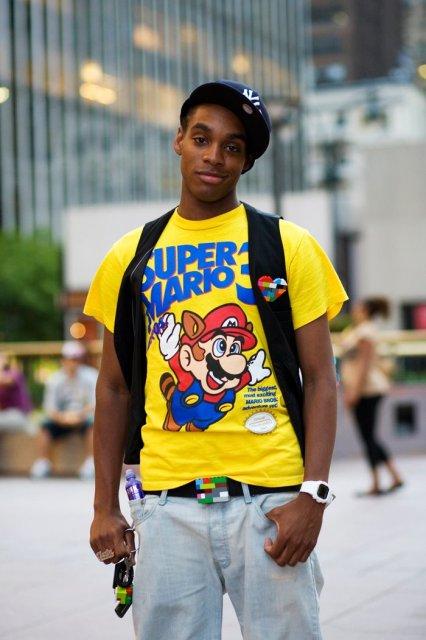 mario hipster